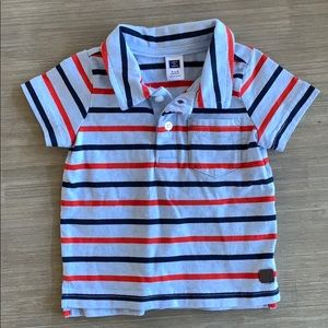 Janie and Jack striped polo shirt 3-6 months